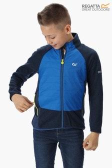 Regatta Blue Elter Full Zip Fleece