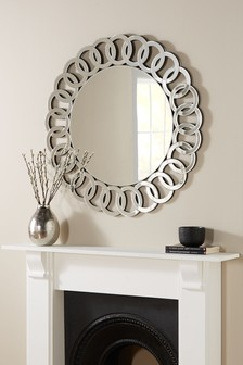 Bevelled Chain Mirror