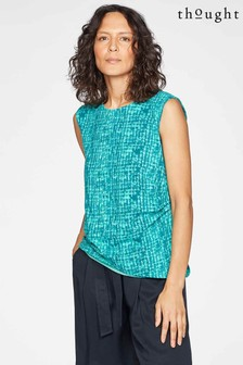 Thought Green Dorothea Top