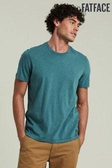 FatFace Duck Egg Blue Lulworth Crew T-Shirt
