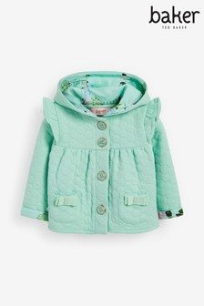 Baker by Ted Baker Frill Quilted Jacket