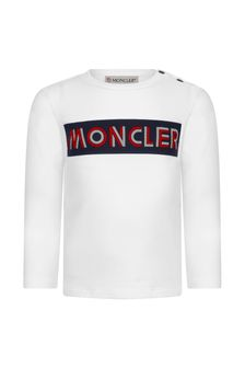 Moncler Enfant Baby Boys Cotton Long Sleeve T-Shirt