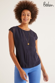 Boden Navy Dakota Top