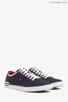 Tommy Hilfiger Blue Corporate Textile Trainers