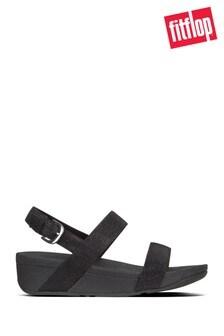 FitFlop™ Black Lottie Glitzy Sandals