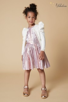 Velveteen Pink Matilda Party Dress