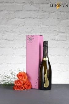 Premium Prosecco Wine 75cl Gift Set by Le Bon Vin