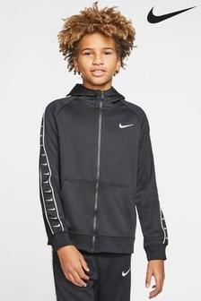 Nike Swoosh Tape Zip Through Hoody