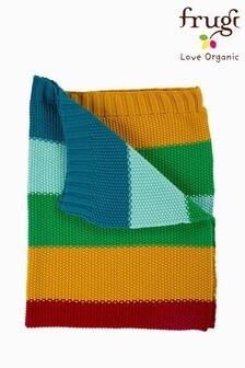 Frugi GOTS Organic Rainbow Blanket