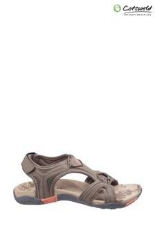 Cotswold Brown Cerney Sandals