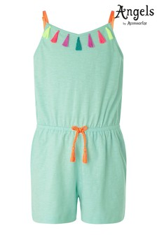 Angels by Accessorize Multi Tassel Jersey Playsuit