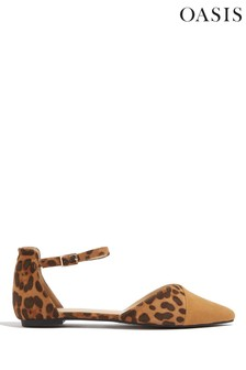 Oasis Animal Two Part Flats