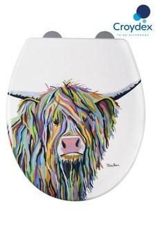 Croydex Angus Highland Cow Toilet Seat