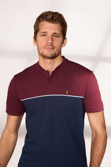 Grandad Neck Poloshirt