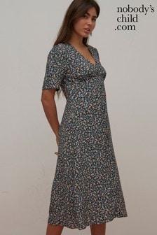 Nobodys Child Alexa Floral Midi Dress