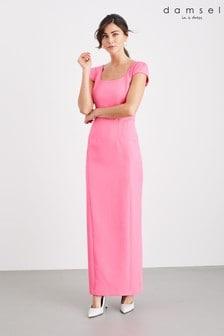 שמלת מקסי של Damsel In A Dress דגם Sheridan בצבע ורוד