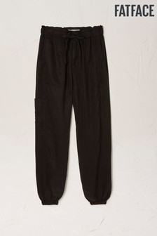 FatFace Black Linslade Utility TENCEL™ Trousers