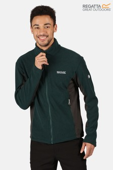 Regatta Green Highton Winter Full Zip Fleece Jacket