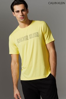 Calvin Klein Yellow Branded T-Shirt