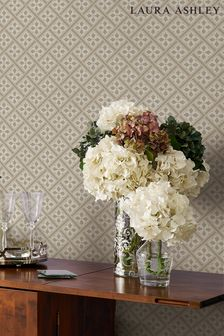 Laura Ashley Mr Jones Paintable Wallpaper