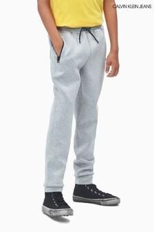 Calvin Klein Grey Jeans Scuba Joggers