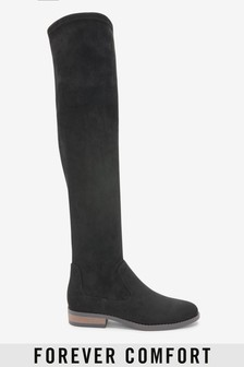 Forever Comfort® Flat Over The Knee Boots