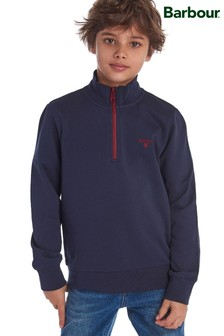Barbour® Boys Half Zip Sweater