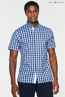 Tommy Hilfiger Gingham Short Sleeve Shirt