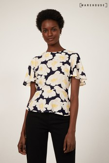 Warehouse Nicky Floral Top