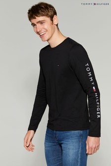 Tommy Hilfiger Tommy Logo Long Sleeve T-Shirt