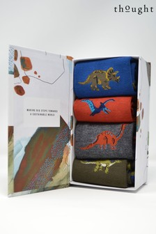 Thought Blue Extinct Sock Box Four Pack