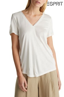 Esprit Natural V-Neck T-Shirt