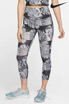 Nike All Over Print Runway Crop Leggings