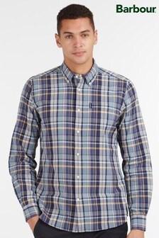 Barbour® Blue Madras 8 Tailored Shirt