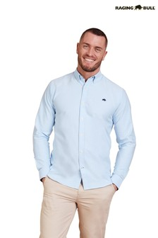 Raging Bull Sky Blue Signature Oxford Shirt