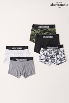 Abercrombie & Fitch Camouflage Trunks Five Pack