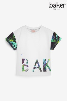 Baker by Ted Baker Younger Girls Logo T-Shirt