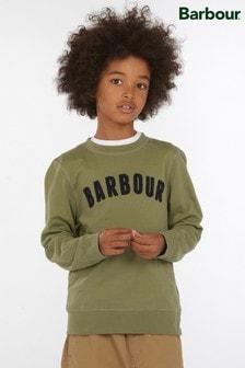 Barbour® Boys Prep Logo Crew Neck Sweater