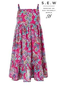 Monsoon Pink S.E.W Karly Dress