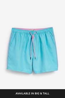 Essential Swim Shorts With Piping
