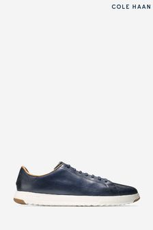Cole Haan Blue Grandpro Tennis Trainers