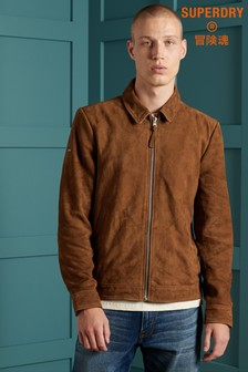 Superdry Indie Coach Suede Jacket