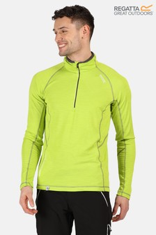 Regatta Green Yonder Half Zip Fleece
