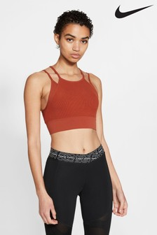 Nike Yoga Indy Novelty Light Support Sports Bra