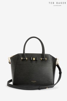 Ted Baker Black Daryyl Leather Tote Bag