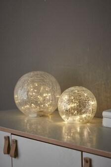 Set of 2 Firefly Balls Feature Lights