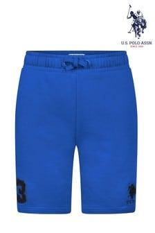 U.S. Polo Assn. Blue Player 3 Sweat Shorts