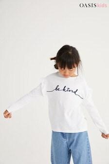 Oasis Be Kind Slogan T-Shirt