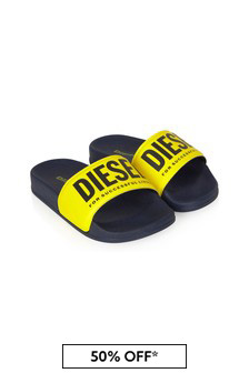 Diesel Boys Navy Sandals