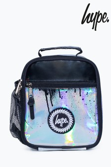 Hype. Holographic Drip Lunch Box